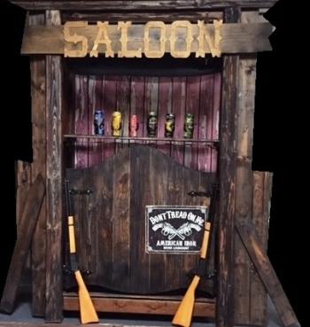Westernová střelnice v SALOONU