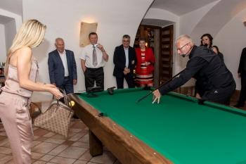 Večírek k 25 letům výročí firmy na zámku Štiřín