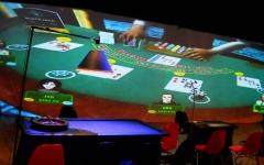 Mobilní casino kasino Halamka s celovečerním programem Las Vegas na Seči