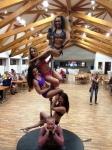Pole Dance Battle vystoupení Mistryň doplněné vystoupením sedminásobným Mistrem světa