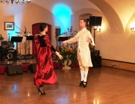 Barokní předtančení na Štiříně