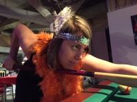 Párty ve stylu 30 let, mobilní casino, mobilní boxerský ring a mobilní kulečníkový stůl